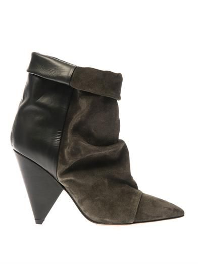 Isabel Marant Andrew leather ankle boots