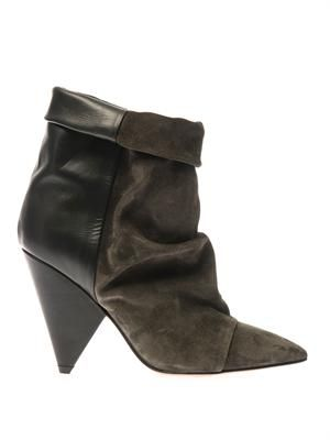 Andrew leather ankle boots