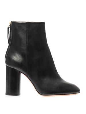 Alona leather ankle boots