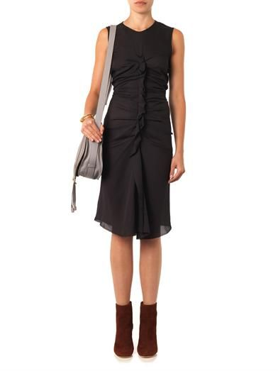 Isabel Marant Humy gathered-front dress