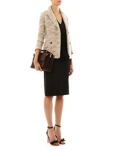 Isabel Marant Lali textured tweed jacket