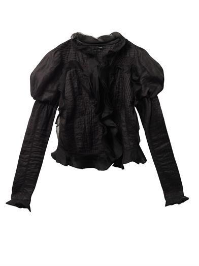 Isabel Marant Ostia Vintage ruffle ramie jacket