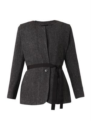 Flo herringbone wool jacket