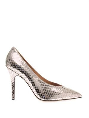 Prissy embossed pumps