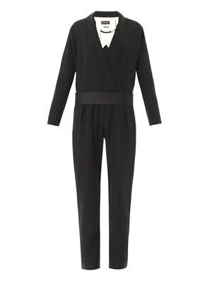 Ofira wool jumpsuit