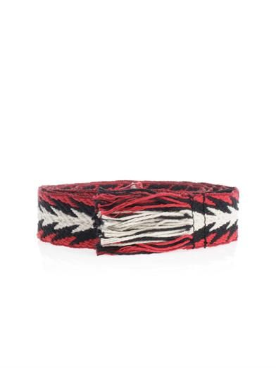 Isabel Marant Uden embroidered belt