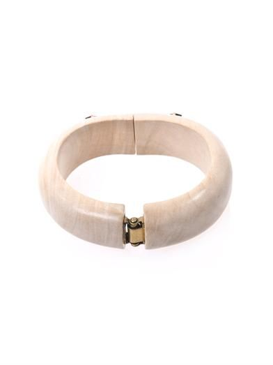 Isabel Marant Gem embellished bangle