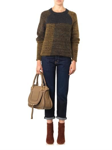 Isabel Marant Naoko patch sweater