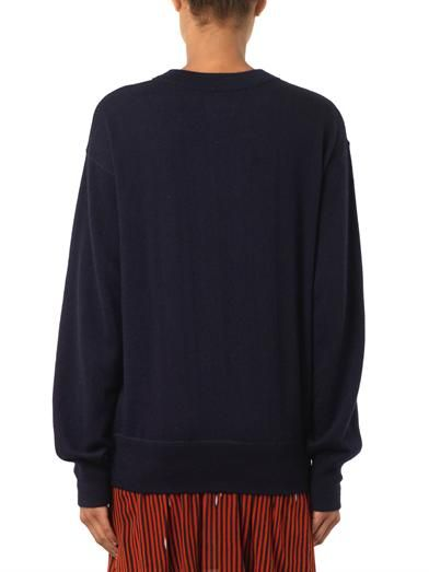 Isabel Marant Obli cashmere and silk-blend sweater
