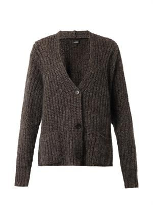 Franck chunky-knit cardigan