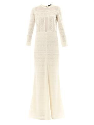 Talma embroidered maxi dress