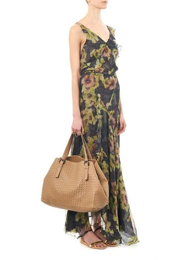 Isabel Marant Rabea floral-print silk dress
