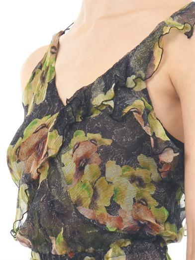 Isabel Marant Rabea floral-print silk dress