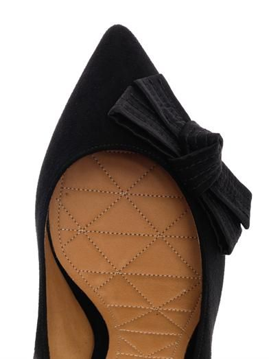 Isabel Marant Poppy suede pumps