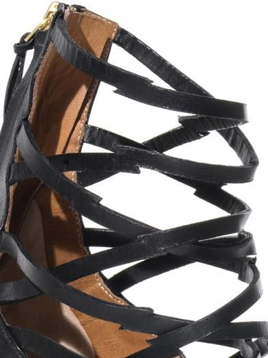 Isabel Marant Paw strappy high-heel sandals