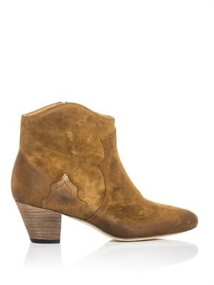 Dicker suede boots