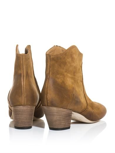 Isabel Marant Dicker suede boots