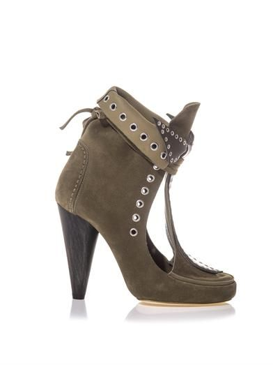 Isabel Marant Milla suede ankle boots