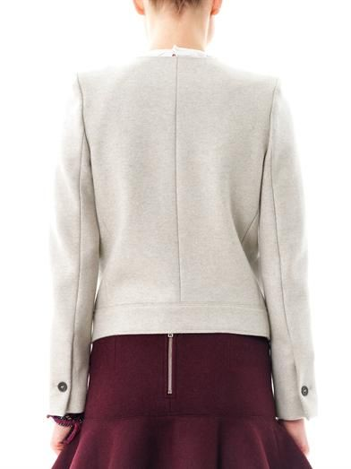 Isabel Marant Fawna collarless jacket