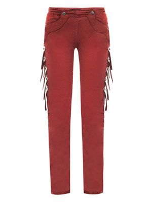 Riley coated mid-rise skinny jeans