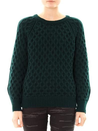 Isabel Marant Noreen textured-knit sweater