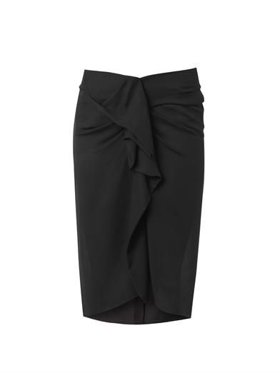 Isabel Marant Huston ruched-front pencil skirt