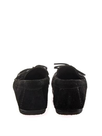 Isabel Marant Flavie suede moccasin shoes