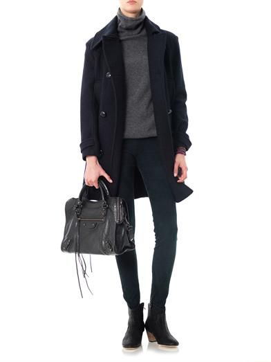 Isabel Marant Geeny suede military leggings