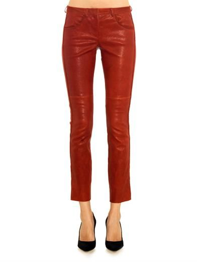 Isabel Marant Dana leather trousers