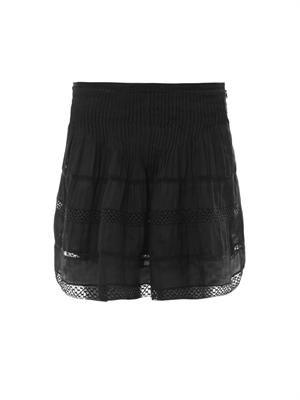 Orka Vintage lace-trimmed skirt