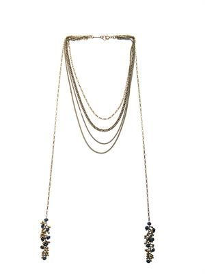 Polly multi-chain necklace