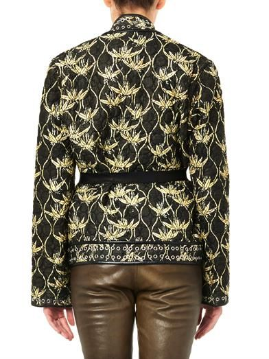 Isabel Marant Oma quilted silk-shantung jacket