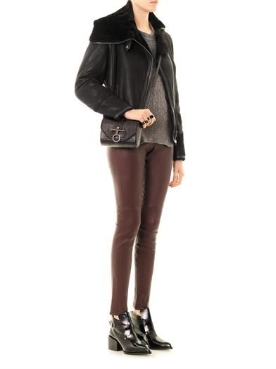 Isabel Marant Backal shearling jacket