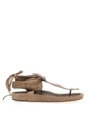 Edris studded suede sandals