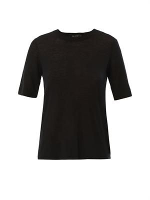 Jaz open-back cashmere knit