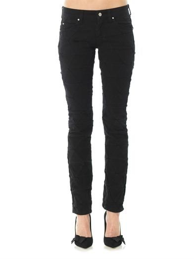 Isabel Marant Stanford origami-effect skinny jeans