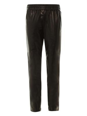 Becka leather trousers