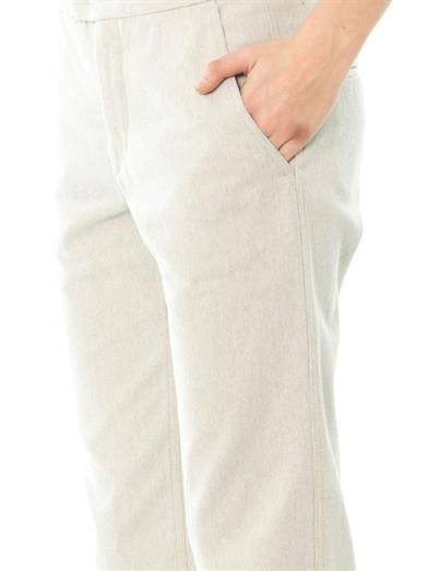 Isabel Marant Ravena cotton serge trousers