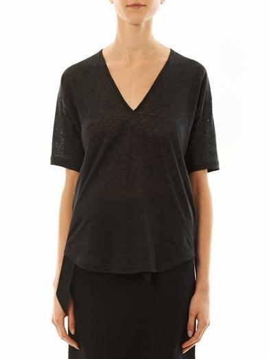 Isabel Marant Minea linen T-shirt