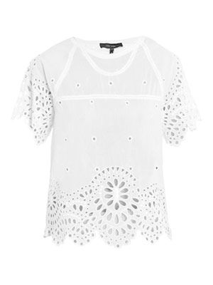 Dream cotton embroidered top