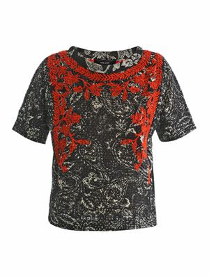 Napoli embroidered blouse