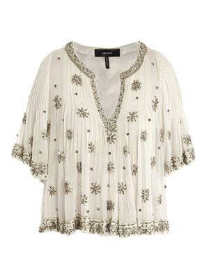 Piper beaded blouse