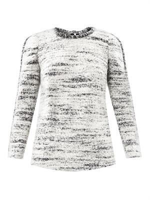 Ivana boiled wool sweater