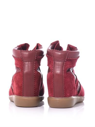 Isabel Marant Betty hidden wedge trainers