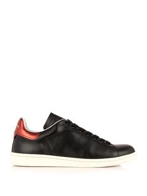 Bart leather low-top trainers