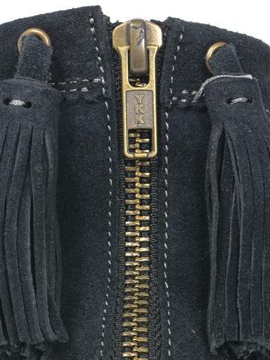 Isabel Marant Beslay suede wedge boots