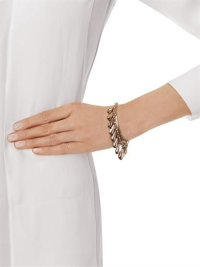 Eddie Borgo Bell charm gold-plated bracelet