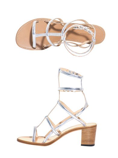 Isabel Marant Shiny strappy sandals