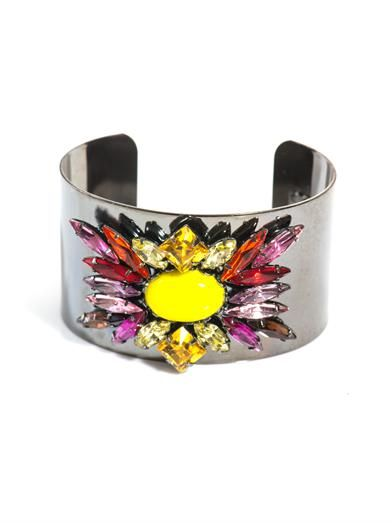 Dannijo Brooklyn embellished cuff