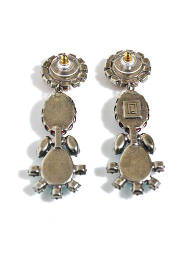 Dannijo Cassandra earrings